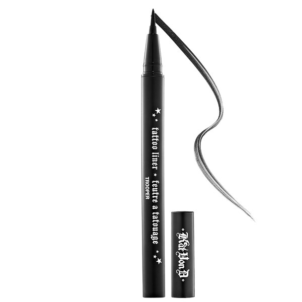sweat proof makeup kat von d tattoo liner desert bloom babe