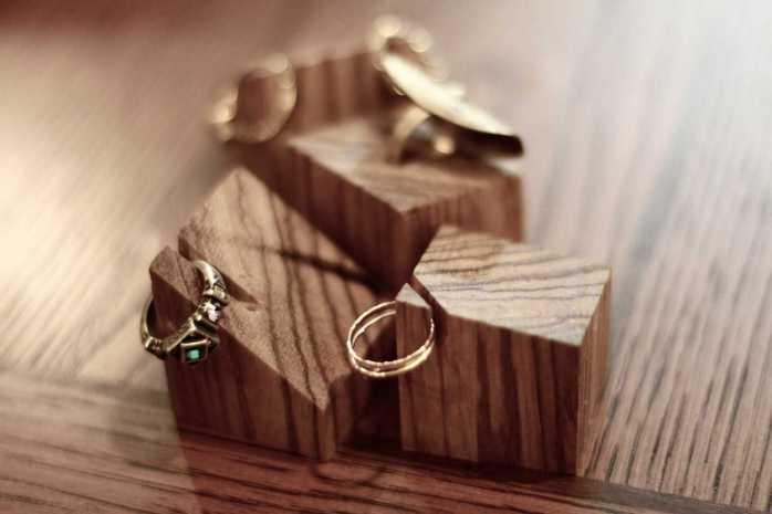 handmade gift ring holder wood valentines gift ideas for girlfriend