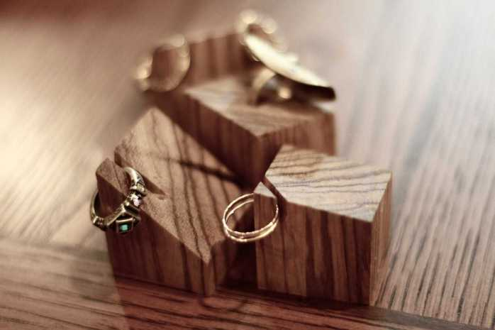 handmade gift ring holder wood valentines gift ideas for girlfriend